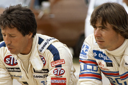 Rick Mears and Mario Andretti