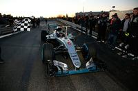 Formula 1 Photos - World Champion Nico Rosberg celebrates