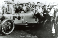 IndyCar Photos - Race winner Louis Meyer