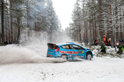 Henning Solberg and Ilka Minor, Ford Fiesta WRC
