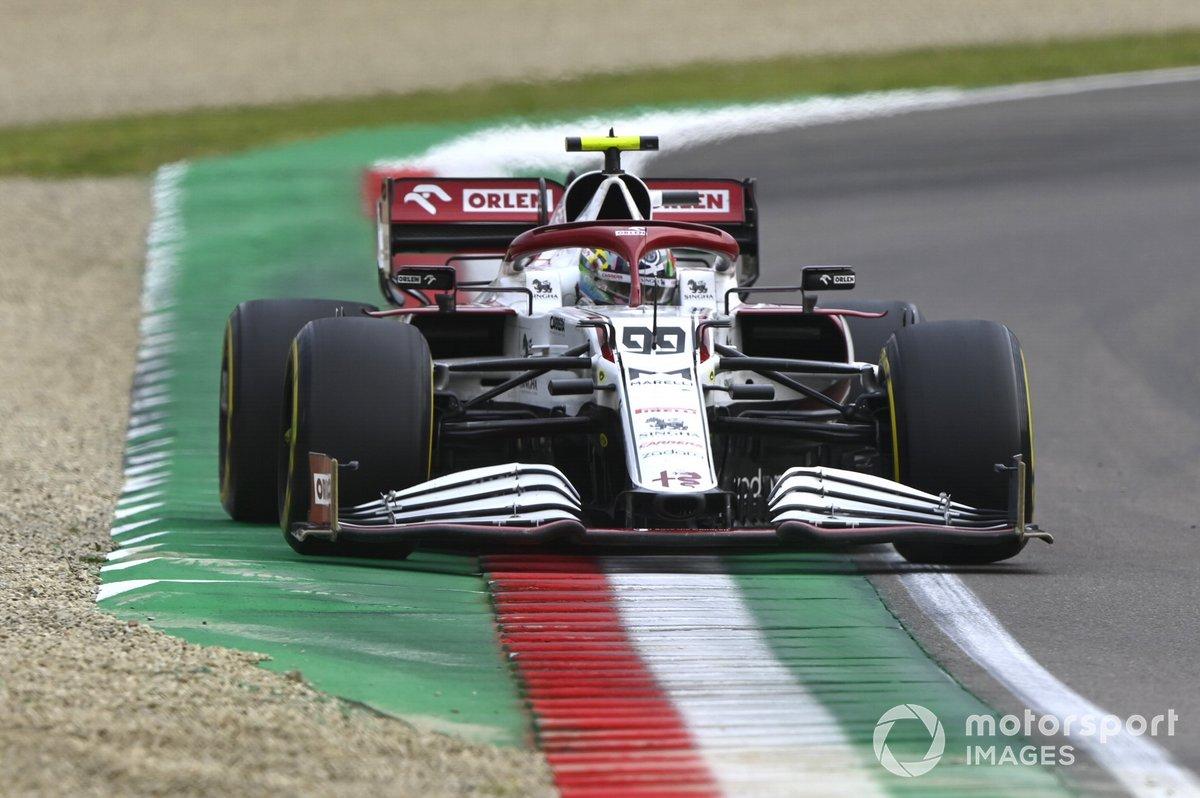 P12 Antonio Giovinazzi, Alfa Romeo Racing C41