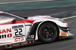 #22 Nissan GT Academy Team RJN Nissan GT-R Nismo GT3: Sean Walkinshaw, Ricardo Sanchez