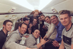 Paul di Resta, Alexander Wurz, Felipe Massa, Max Verstappen, Jean-Eric Vergne, Esteban Gutierrez, Jenson Button, Nico Rosberg, David Coulthard, Nico Hulkenberg