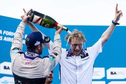 Winner Sam Bird, DS Virgin Racing Formula E Team