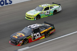 Brandon Jones, Richard Childress Racing Chevrolet, Justin Marks, Chip Ganassi Racing Chevrolet