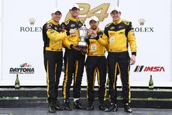 PC podium: winners Chris Miller, Mikhail Goikhberg, Stephen Simpson, Kenton Koch