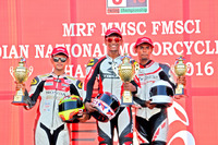 Other bike Photos - Podium Race 2: Race winner Kannan;econd place Harryylvester; third place K Jagan