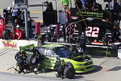 Ryan Blaney, Team Penske Ford, pit action