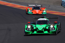 #2 Tequila Patron ESM Ligier JS P2: Scott Sharp, Johannes van Overbeek, Luis Felipe Derani, #55 Mazda Motorsports Mazda Prototype: Jonathan Bomarito, Tristan Nunez, Spencer Pigot
