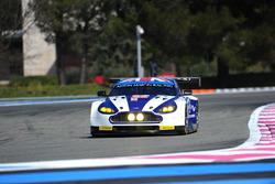 #99 Aston Martin Racing Aston Martin Vantage V8: Andrew Howard, Jonathan Adam