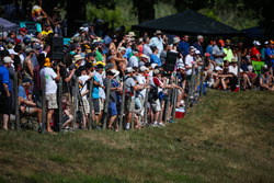 Fans at Lime Rock Park