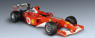 Formula 1 Ferrari F2002 launched at Maranello