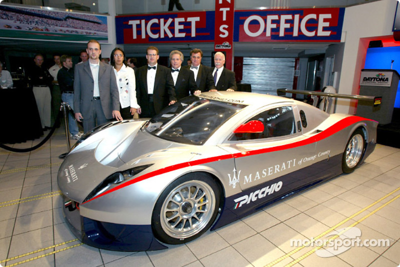 Acura Of Dayton >> Picchio Daytona Prototype unveiled in Daytona