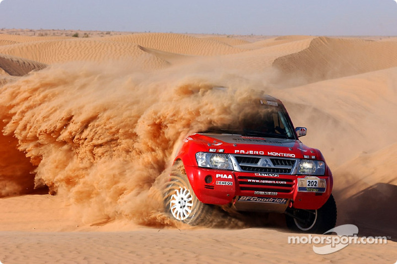 Dakar: Stage five Tozeur to El Borma notes