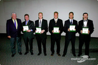2002 Rolex Series Champions honored
