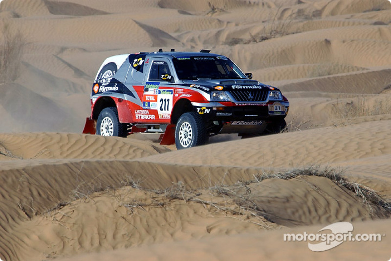 Dakar: Mitsubishi stage nine report