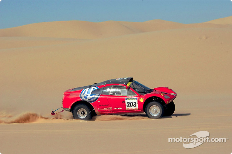 Dakar: Volkswagen stage ten report