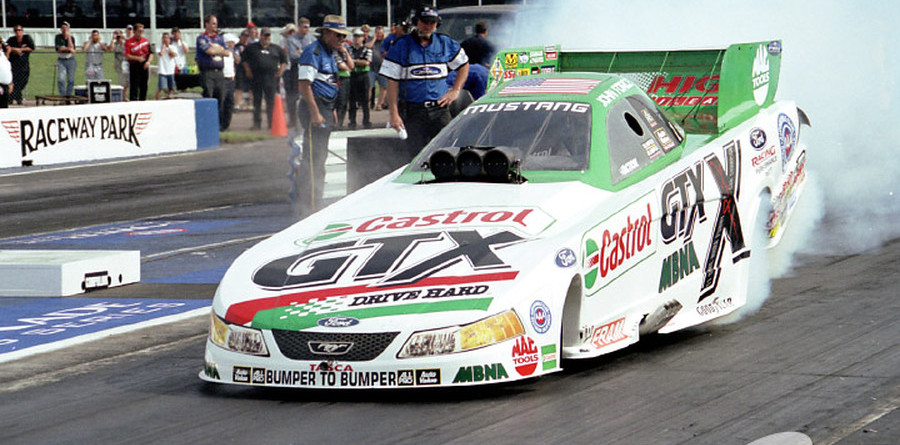 John Force wins AARWBA's Titus Award