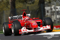 Ferrari take control San Marino GP Friday qualifying