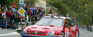 WRC Loeb stays on track to win Rallye Sanremo