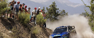 Sainz on top as Gronholm falters