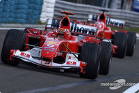 Ferrari pair the only title contenders