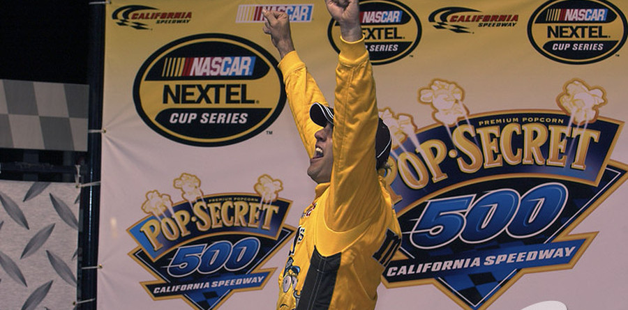 Sadler flies high for victory in Fontana