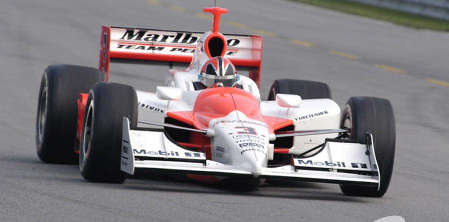 IRL: Castroneves pips Kanaan for Chicagoland pole