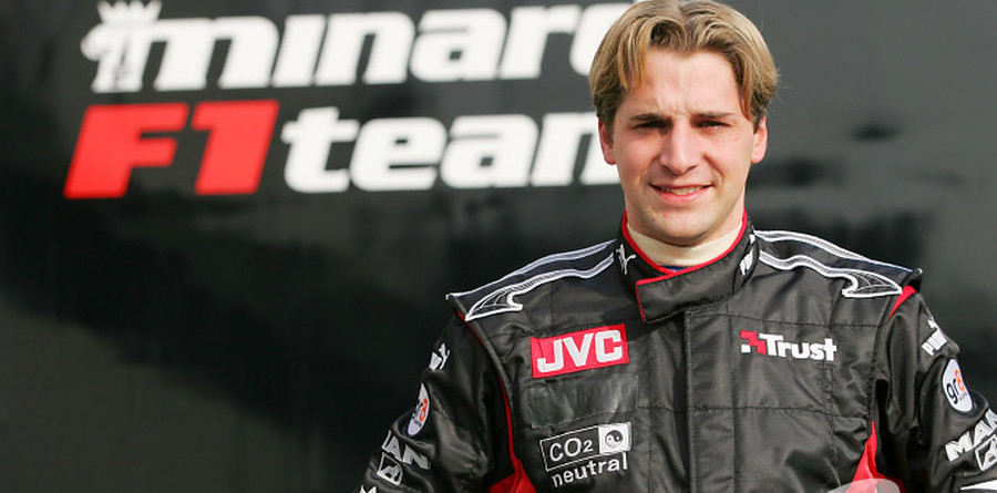 Albers to race for Minardi in 2005