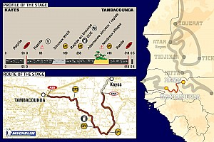 Dakar Dakar: Stage 14 Kayes to Tambacounda notes