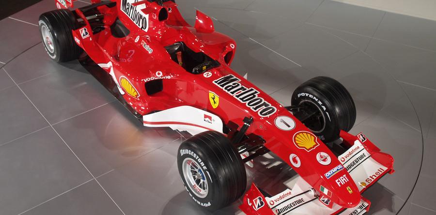 Ferrari unveils F2005 at Maranello