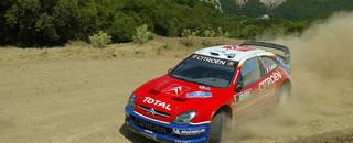 WRC Loeb nips Gronholm on Acropolis Rally 1st leg