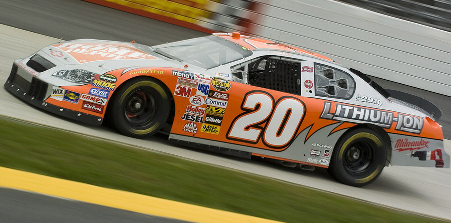 Stewart up front at Martinsville