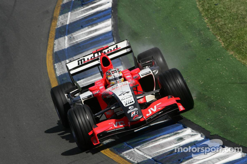 Difficult day for Monteiro