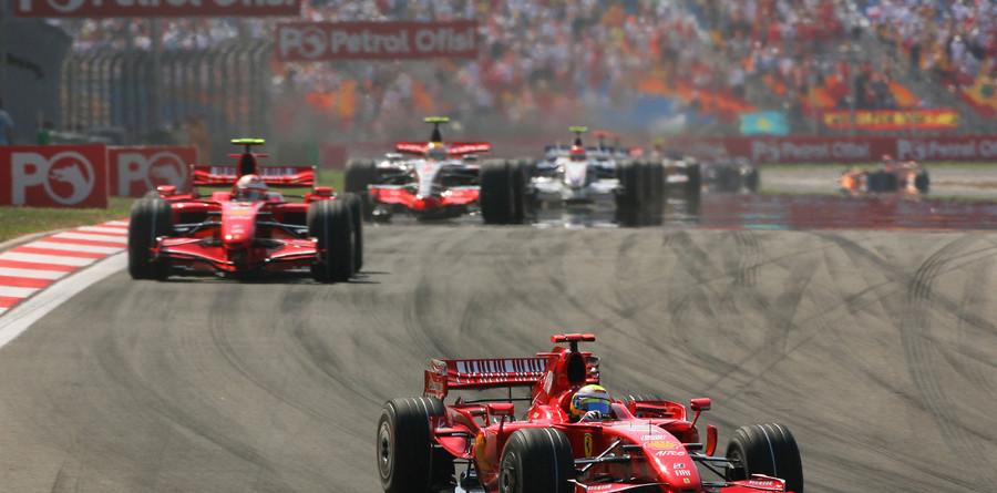 Massa leads Ferrari one-two in Turkish GP