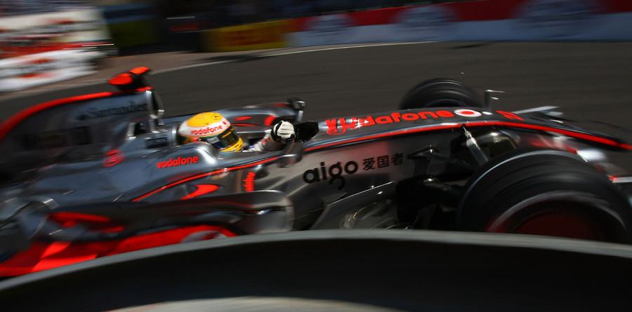 Hamilton speeds with intent in Monaco practice