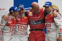 Audi still celebrating historic Le Mans victory