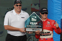 Briscoe nips Dixon for Chicagoland Pole