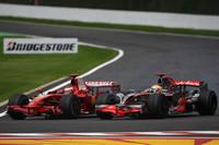 Raikkonen's title hopes doused by Hamilton at Spa