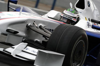 Heidfeld on top, champion crashes in Jerez final day