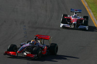 Trulli penalized, Hamilton moves to third