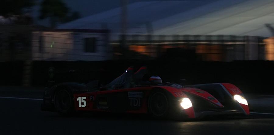 Kolles Audis sparking surprise through 12 hours