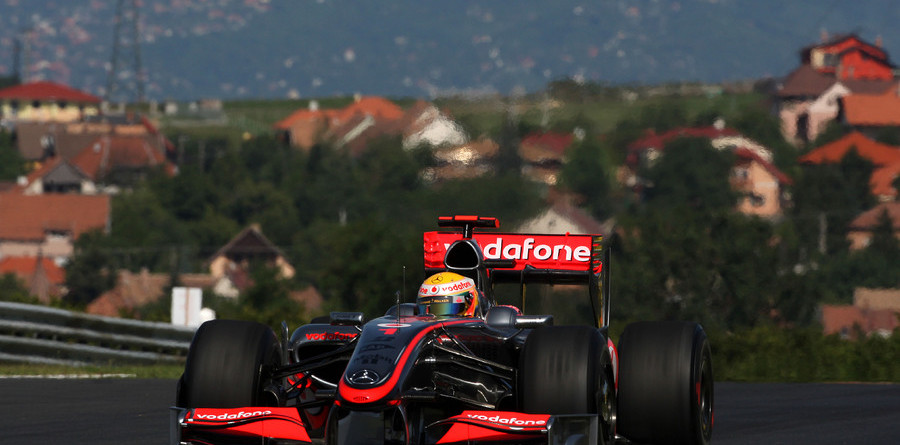 McLarens top Hungary Friday practice