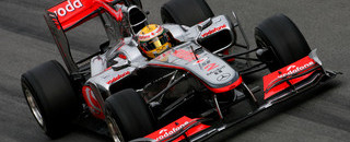Formula 1 Hamilton tops timesheets at final test in Spain
