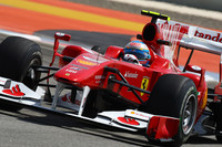 Alonso wins Bahrain in his Ferrari debut