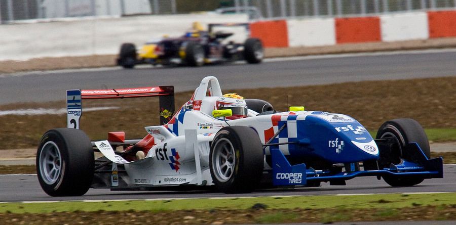 Calado claims another win at Silverstone