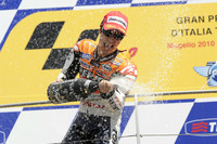 Pedrosa dominates Italian GP for first 2010 win