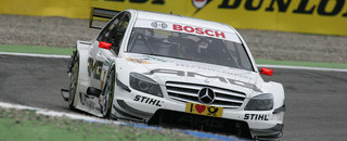 DTM Di Resta wins third in a row at Hockenheim