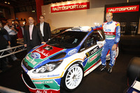 New Ford Fiesta RS in Autosport show spotlight
