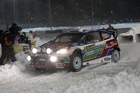 Ostberg is surprise early leader in Rally Sweden